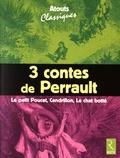 Charles Perrault - 3 contes de Perrault : Le Petit Poucet, Cendrillon, Le chat botté - Pack en 6 volumes.