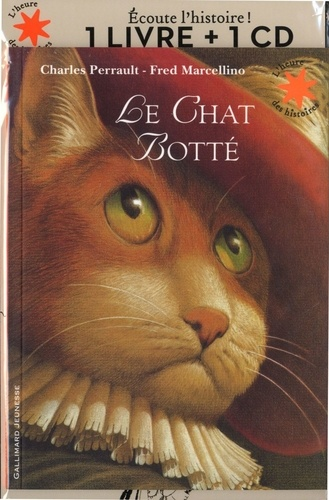 Le chat botté  avec 1 CD audio