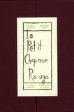 Charles Perrault et Warja Lavater - Le Petit Chaperon rouge.