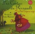 Charles Perrault et Claude Brasseur - Le Petit Chaperon Rouge ; Riquet à la houppe ; Grisélidis ; La Belle au bois dormant - CD audio.