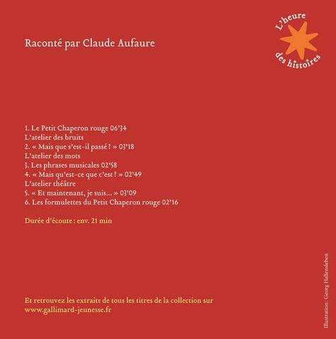 Le Petit Chaperon rouge  avec 1 CD audio