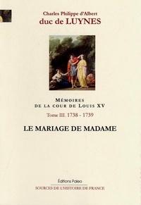 Openwetlab.it Mémoires de la cour de Louis XV Tome 3 Image
