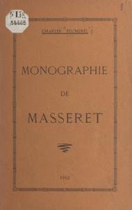 Charles Plumerel - Monographie de Masseret.