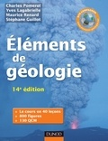 Charles Pomerol et Yves Lagabrielle - Eléments de géologie - 14e édition - L'essentiel des Sciences de la Terre et de l'Univers - Cours, QCM et site compagnon.