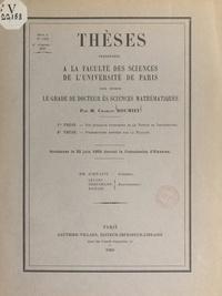 Charles Roumieu - Sur quelques extensions de la notion de distribution - Thèses présentées à la Faculté des sciences de l'Université de Paris pour obtenir le grade de Docteur ès sciences mathématiques, soutenues le 23 juin 1959 devant la commission d'examen.