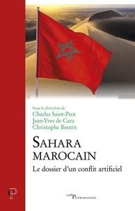 Charles Saint-Prot et Jean-Yves de Cara - Sahara Marocain.
