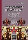 Charles Schmidt - Ce qu'ils auraient fait de l'Alsace-Lorraine....