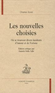 Charles Sorel - Les nouvelles choisies - Où se trouvent divers incidents d'Amour et de Fortune.