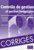 Charles-T Horngren et Alnoor Bhimani - Contrôle de gestion et gestion budgétaire - Les corrigés des exercices.