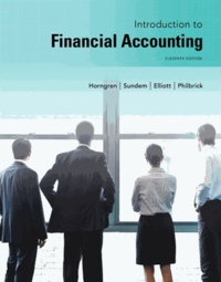 Charles T. Horngren et Gary L. Sundem - Introduction to Financial Accounting.