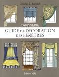 Charles T Randall - Tapisserie - Modèles pour fenêtres et lits.