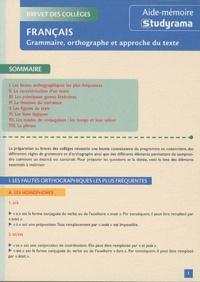 Charles Tafanelli - Grammaire, orthographe et approche du texte.