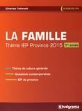 Charles Tafanelli - La famille - Thème IEP 1re année.