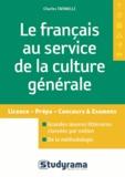 Charles Tafanelli - Le français au service de la culture générale.