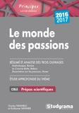 Charles Tafanelli et Guillaume Vannier - Le monde des passions.