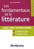 Charles Tafanelli - Les fondamentaux de la littérature.