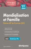 Charles Tafanelli - Mondialisation et famille - Thèmes IEP 2015 1e année.