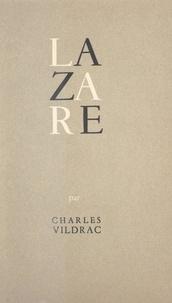 Charles Vildrac - Lazare.