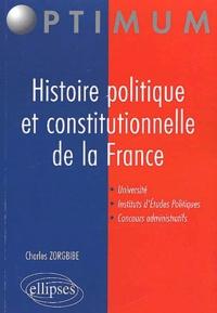 Goodtastepolice.fr Histoire politique et constitutionnelle de la France Image