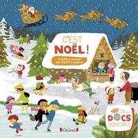 Charlie Pop et Marion Zoubenko - C'est Noël ! - 12 sons à écouter, des volets à soulever.