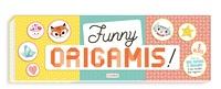 Deedr.fr Funny origamis! - 3 blocs, près de 1000 papiers à origamis & des modèles trop mignons! Hello les amis ; With love ; So sweet Image