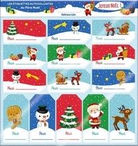 Charlie Pop - Les étiquettes autocollantes du père Noël.