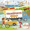 Charlie Pop - Les transports - 12 sons à écouter, des volets à soulever.