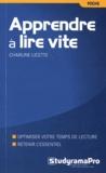 Charline Licette - Apprendre à lire vite.