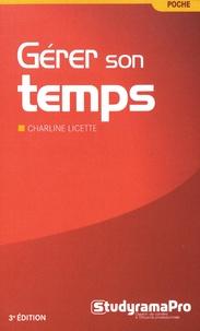 Charline Licette - Gérer son temps.