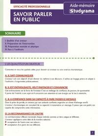 Téléchargements ebook pdf en ligne Savoir parler en public PDF RTF par Charline Licette