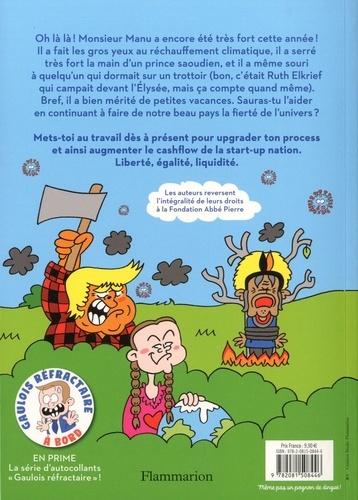 Le cahier de vacances de (Manu) Monsieur le président de la république  Edition 2020