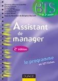 Charlotte Albertini-Lomellini et Charles Caussin - Assistant de manager -2e ed. - - Le programme en 107 fiches.