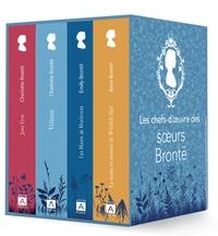 Charlotte Brontë et Anne Brontë - Les chefs-d'oeuvre des soeurs Brontë - Jane Eyre ou Les Mémoires d'une institutrice ; La dame du manoir de Wildfell Hall ; Les Hauts de Hurlevent ; Villette.