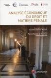 Charlotte Claverie-Rousset - Analyse économique du droit et matière pénale.