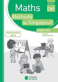 Charlotte Collars et Nghan Hoe Lee - Maths CM1 Méthode de Singapour - Exercices, fichier photocopiable.