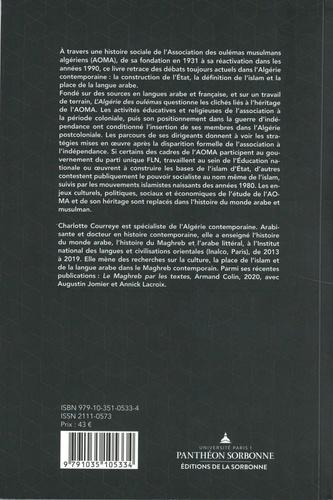 L'Algérie des oulémas. Une histoire de l'Algérie contemporaine (1931-1991)