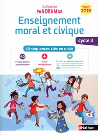 Deedr.fr Enseignement moral et civique cycle 3 - 40 séquences clés en main : 40 fiches élève à photocopier + Guide pédagogique Image