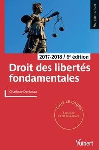 Charlotte Denizeau - Droit des libertés fondamentales - 2017-2018.