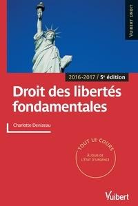 Charlotte Denizeau et  Denizeau - Droit des libertés fondamentales.