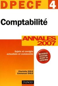 Comptabilité DPECF 4 - Annales 2007 Corrigés commentés.pdf