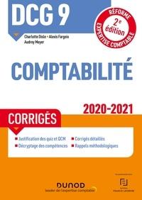 Charlotte Disle et Alexis Fargeix - DCG 9 Comptabilité - Corrigés - 2020-2021.