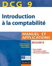 Charlotte Disle et Michel Méau - DCG 9 introduction à la comptabilité - Manuel et applications.