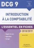 Charlotte Disle - Introduction à la comptabilité DCG 9 - L'essentiel en fiches.