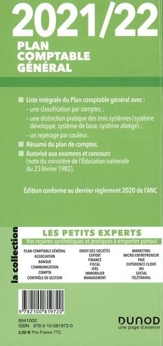 Plan comptable général. Liste intégrale des comptes  Edition 2021-2022