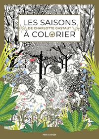 Charlotte Gastaut - Les saisons à colorier.