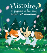 Charlotte Grossetête et Madeleine Brunelet - Histoires en pyjama à lire avec papa et maman.