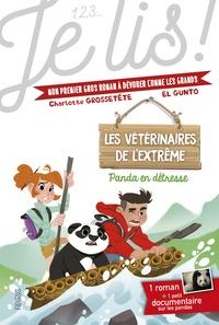 Charlotte Grossetête et  El Gunto - Les vétérinaires de l'extrême Tome 1 : Panda en détresse !.