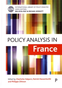 Charlotte Halpern et Patrick Hassenteufel - Policy Analysis in France.