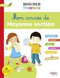 Charlotte Lascault et Séverine Cordier - Mon année de moyenne section 4-5 ans - + 100 autocollants et un poster.