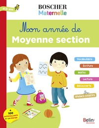 Livres gratuits sur google à télécharger Mon année de moyenne section 4-5 ans  - + 100 autocollants et un poster MOBI FB2 PDB par Charlotte Lascault, Séverine Cordier